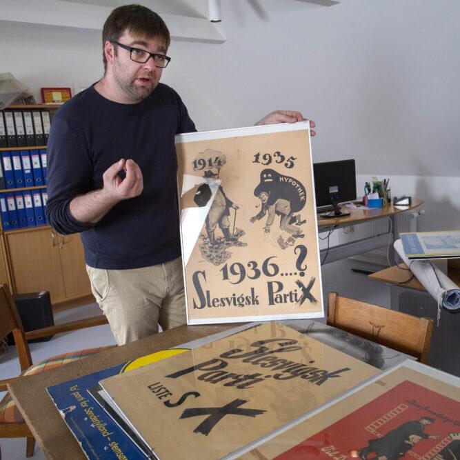 Udstilling om Slesvigsk Partis 100-årige partihistorie